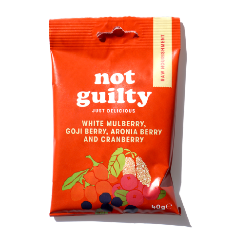 Not Guilty Super Berry Snack Mix  40g